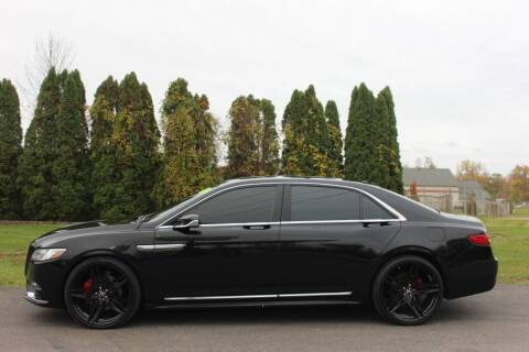 2017 Lincoln Continental for sale at D & B Auto Sales LLC in Washington Township MI