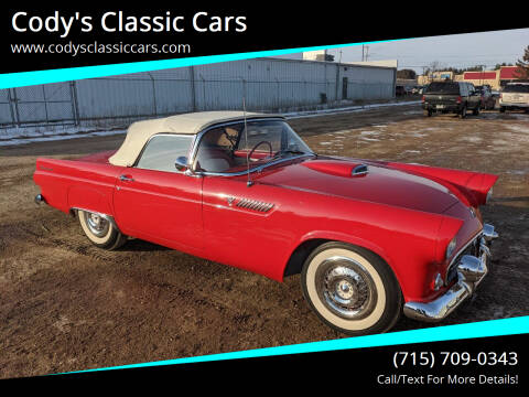 1955 Ford Thunderbird for sale at Cody's Classic Cars in Stanley WI