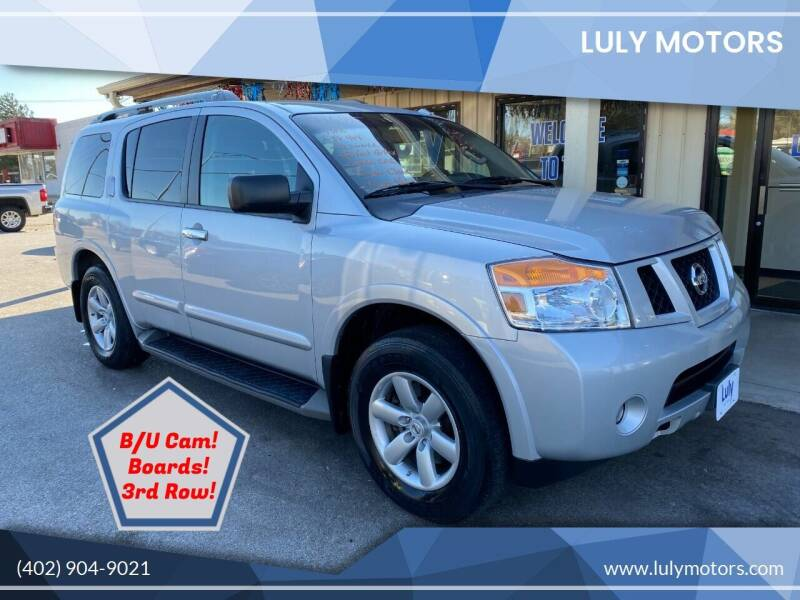 2014 Nissan Armada for sale at Luly Motors in Lincoln NE