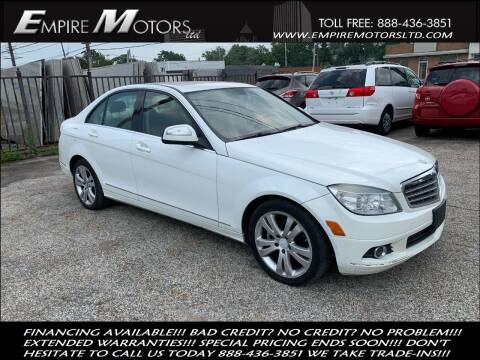 2008 Mercedes-Benz C-Class for sale at Empire Motors LTD in Cleveland OH