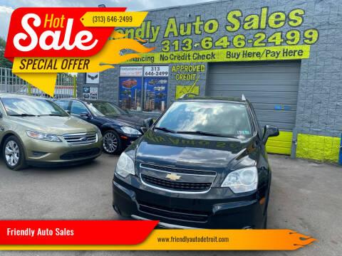 2013 Chevrolet Captiva Sport for sale at Friendly Auto Sales in Detroit MI