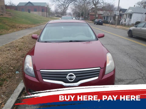2007 Nissan Altima for sale at ALL Auto Sales Inc in Saint Louis MO