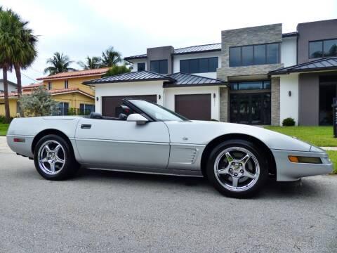 1996 Chevrolet Corvette for sale at Lifetime Automotive Group in Pompano Beach FL