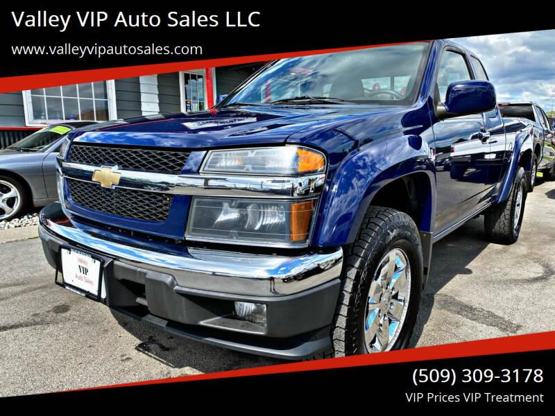 2011 Chevrolet Colorado for sale at Valley VIP Auto Sales LLC in Spokane Valley WA