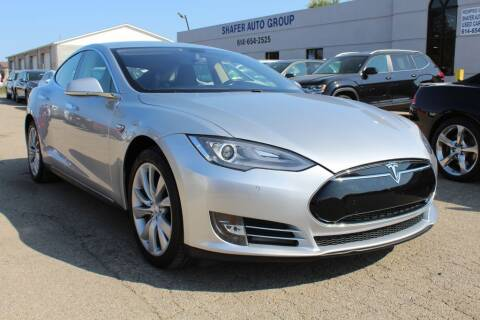 2014 Tesla Model S for sale at SHAFER AUTO GROUP in Columbus OH