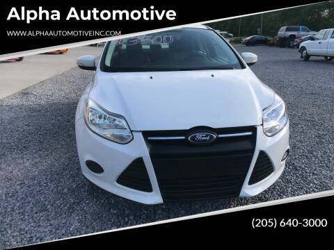 2014 Ford Focus for sale at Alpha Automotive in Odenville AL