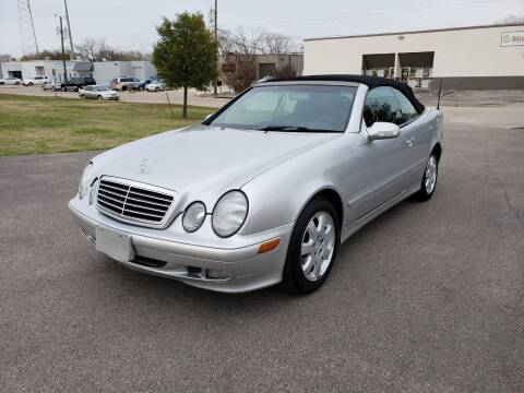 2002 Mercedes-Benz CLK for sale at Image Auto Sales in Dallas TX