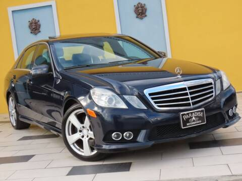2010 Mercedes-Benz E-Class for sale at Paradise Motor Sports LLC in Lexington KY