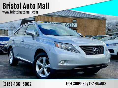 2011 Lexus RX 350 for sale at Bristol Auto Mall in Levittown PA
