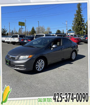 2012 Honda Civic for sale at Corn Motors in Everett WA