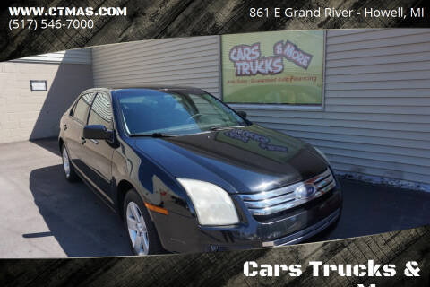 2006 Ford Fusion for sale at Cars Trucks & More in Howell MI
