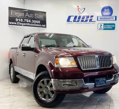 2006 Lincoln Mark LT for sale at Elegant Auto Sales in Rancho Cordova CA
