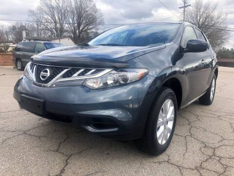 2013 Nissan Murano for sale at Doug's Auto Sales in Danville VA