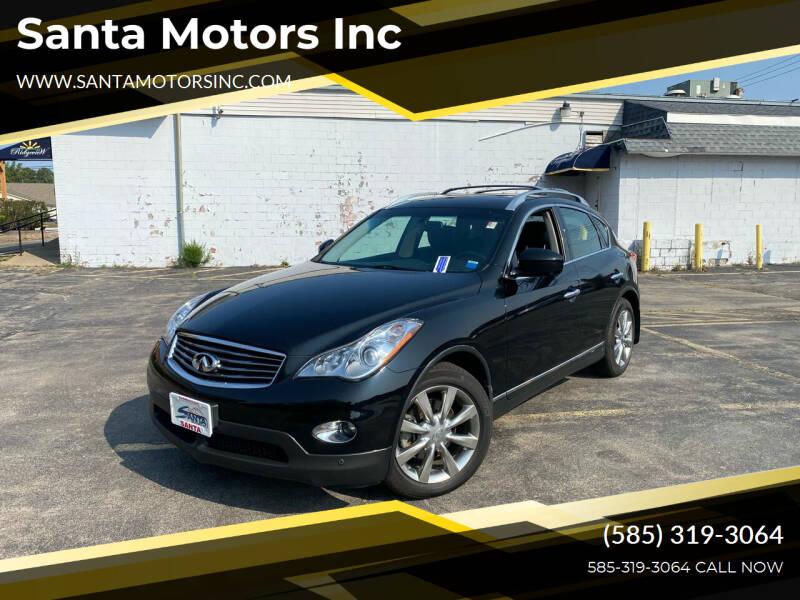 2011 Infiniti EX35 for sale at Santa Motors Inc in Rochester NY