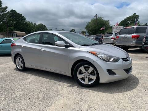 2013 Hyundai Elantra for sale at Rodgers Enterprises in North Charleston SC