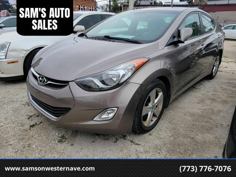 2013 Hyundai Elantra for sale at SAM'S AUTO SALES in Chicago IL