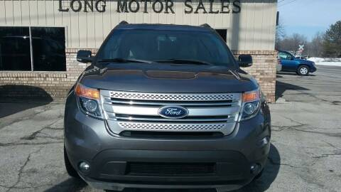 2014 Ford Explorer for sale at Long Motor Sales in Tecumseh MI