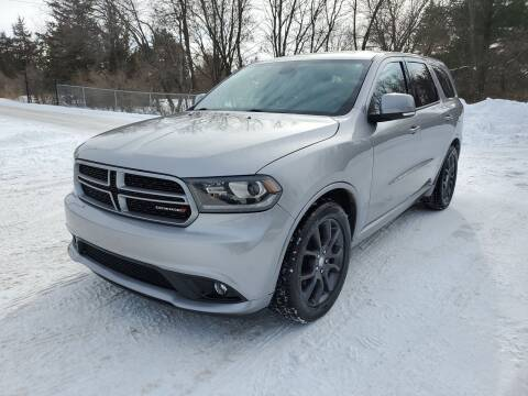 2015 Dodge Durango for sale at Ace Auto in Jordan MN