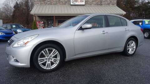 2012 Infiniti G25 Sedan for sale at Driven Pre-Owned in Lenoir NC
