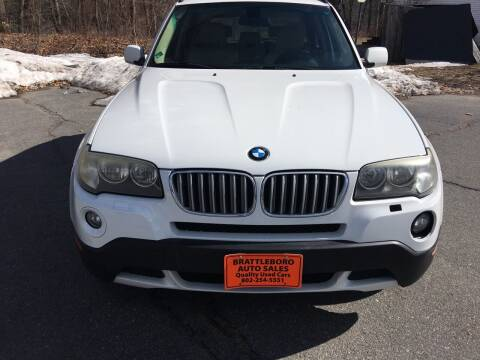 2005 BMW X3 for sale at BRATTLEBORO AUTO SALES in Brattleboro VT