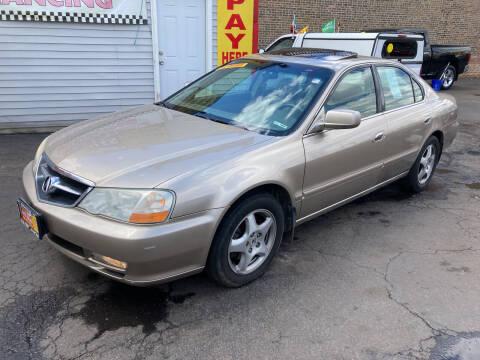 2003 Acura TL for sale at RON'S AUTO SALES INC in Cicero IL