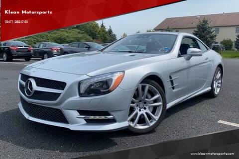 2015 Mercedes-Benz SL-Class for sale at Klean Motorsports in Skokie IL