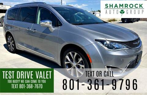 2018 Chrysler Pacifica for sale at Shamrock Group LLC #1 in Pleasant Grove UT