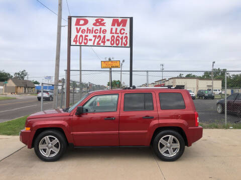 2007 Jeep Patriot for sale at D & M Vehicle LLC in Oklahoma City OK