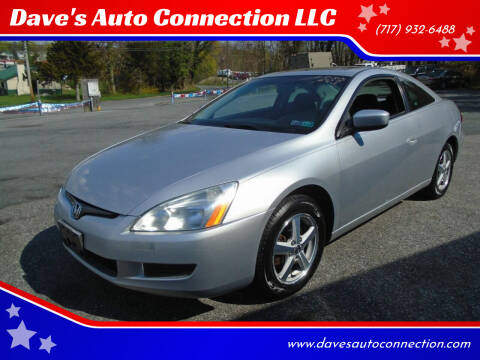 2003 Honda Accord for sale at Dave's Auto Connection LLC in Etters PA