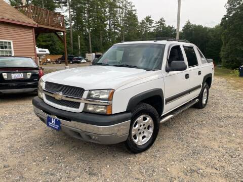 2004 Chevrolet Avalanche for sale at Hornes Auto Sales LLC in Epping NH