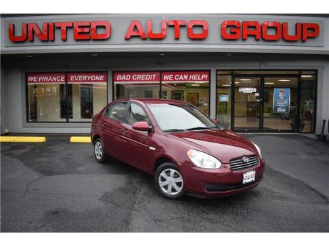 2007 Hyundai Accent for sale at United Auto Group in Putnam CT