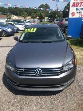 2014 Volkswagen Passat for sale at Auto Mart - Dorchester in North Charleston SC