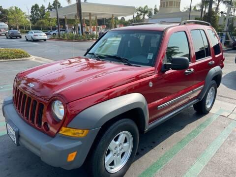 2005 Jeep Liberty for sale at Coast Auto Motors in Newport Beach CA