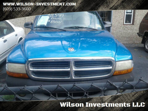 1999 Dodge Dakota for sale at Wilson Investments LLC in Ewing NJ