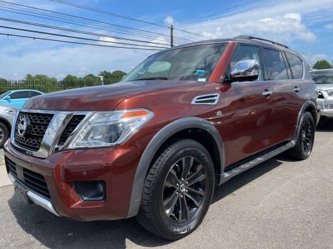 2017 Nissan Armada for sale at Vantage Auto Wholesale in Moonachie NJ
