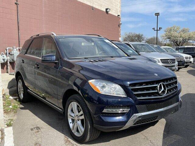 2015 Mercedes-Benz M-Class for sale at SOUTHFIELD QUALITY CARS in Detroit MI