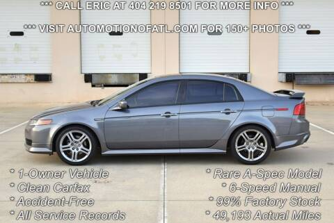 2006 Acura TL for sale at Automotion Of Atlanta in Conyers GA