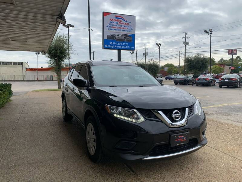 2016 Nissan Rogue for sale at Magic Auto Sales in Dallas TX