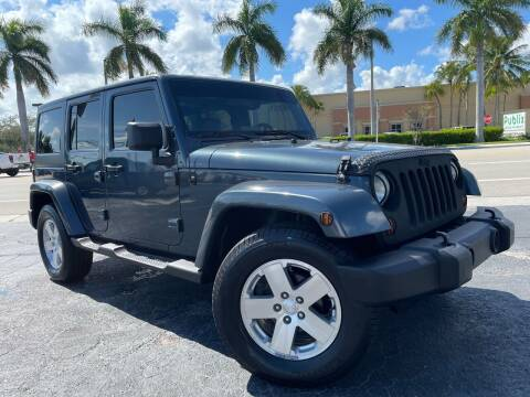 2008 Jeep Wrangler Unlimited for sale at Kaler Auto Sales in Wilton Manors FL