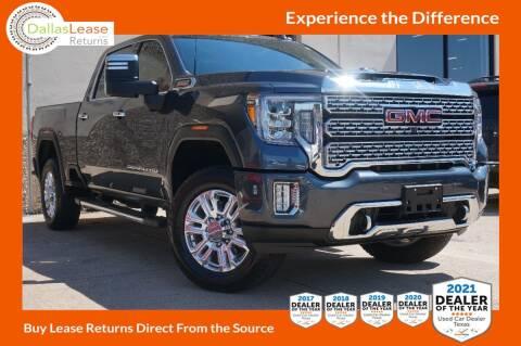 2020 GMC Sierra 2500HD for sale at Dallas Auto Finance in Dallas TX