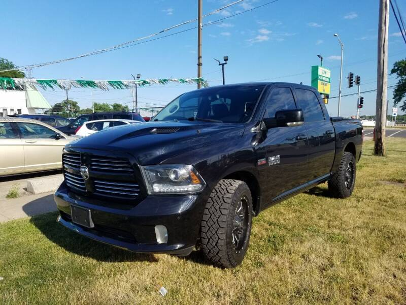 2014 RAM Ram Pickup 1500 for sale at RBM AUTO BROKERS in Alsip IL