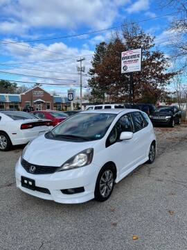 2012 Honda Fit for sale at NEWFOUND MOTORS INC in Seabrook NH
