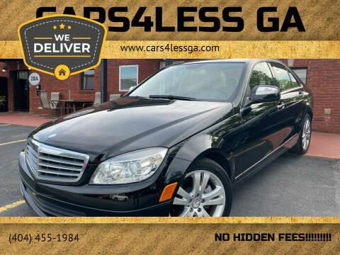 2009 Mercedes-Benz C-Class for sale at Cars4Less GA in Alpharetta GA