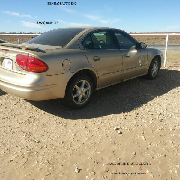 2004 Oldsmobile Alero for sale at BENHAM AUTO INC in Lubbock TX