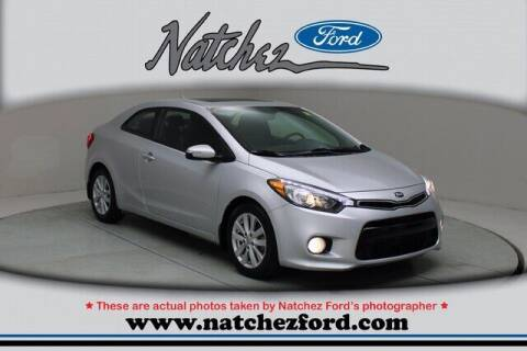 2016 Kia Forte Koup for sale at Auto Group South - Natchez Ford Lincoln in Natchez MS