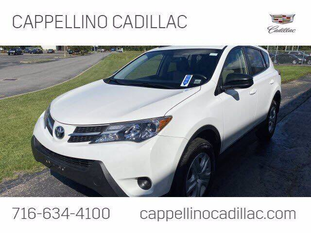 2015 Toyota RAV4 for sale at Cappellino Cadillac in Williamsville NY