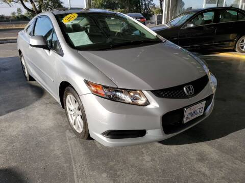2012 Honda Civic for sale at Sac River Auto in Davis CA