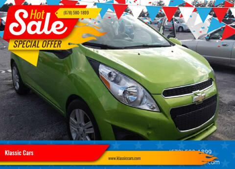 2014 Chevrolet Spark for sale at Klassic Cars in Lilburn GA