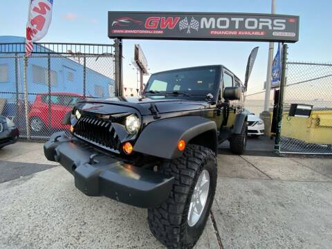 2015 Jeep Wrangler Unlimited for sale at GW MOTORS in Newark NJ