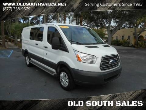 2016 Ford Transit Cargo for sale at OLD SOUTH SALES in Vero Beach FL